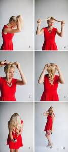 手殘女的福音 1分鐘搞定美美編髮造型