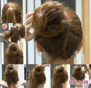 六款時尚丸子頭圖解教學!每個都超簡單又俏麗~~每天都可輕鬆完成丸子頭
