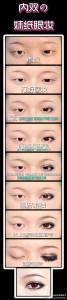 專屬於內雙女人的眼影教學,內雙真的超難化眼影的