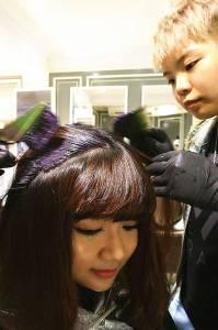 【美髮】BON BON Hair 內彎髮尾+瀏海熱塑燙+結構式護髮