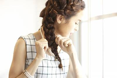 釋放夏季氛圍超魅惑編髮造型│VoCE
