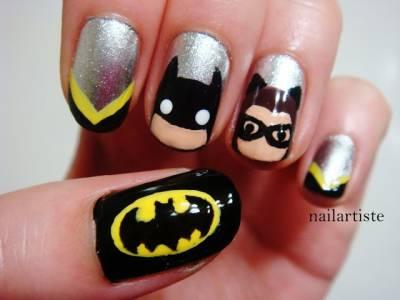 【焦點】暑假大片之蝙蝠俠美甲篇