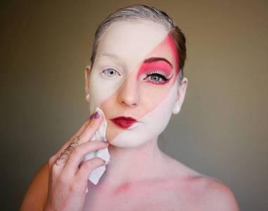 你一定沒有看過這樣的易容術,把彩妝發揮到另一個境界了