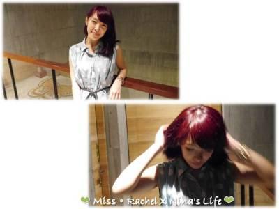 美髮❤春夏換裝~變色紅髮女孩兒 東區幾何髮藝xUni大變身