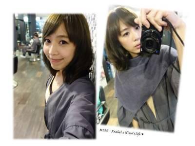 美髮❤東區幾何髮藝x小肆~~春日亞麻霧綠髮色新體驗