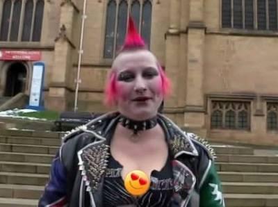 英國龐克女孩卸妝後,竟然... 跌破眼鏡