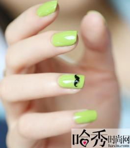 指彩 夏日推薦!綠色系清新指彩