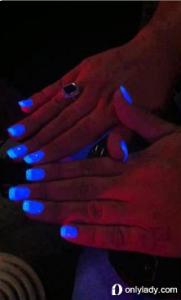 指彩 夜光指甲油你嘗試過嗎?