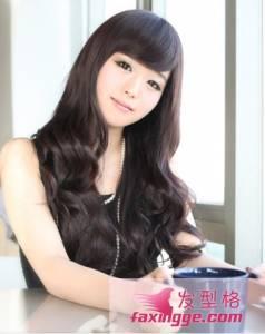 適合大臉女生的髮型甜美可愛又瘦臉