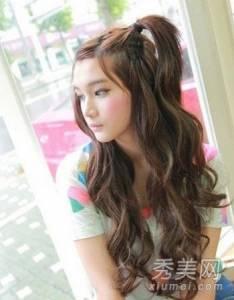 秋季韓國女生最潮髮型甜美時尚