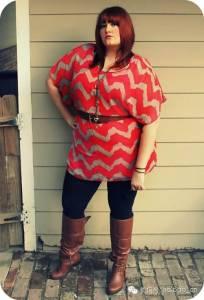 就算胖成一堵城墙,我也要穿得漂亮!怎麼辦想追求....