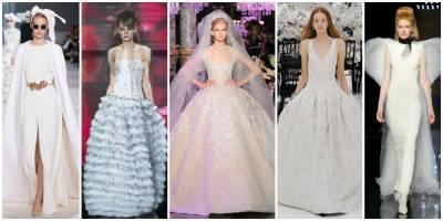 準新娘看過來!10件來自高級訂製服的非典型婚紗靈感