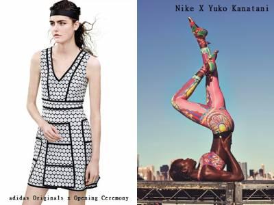 夏季運動時髦穿搭提案-當運動遇見時尚