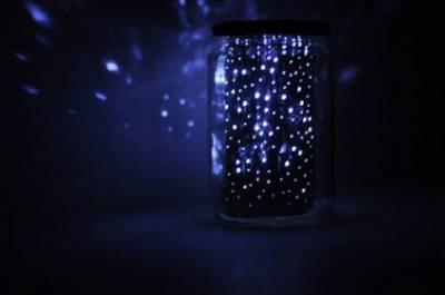 星空下的浪漫!超簡單教你自製果醬罐裡的點點星光...