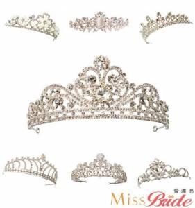 結婚皇冠飾品哪裡買?五家新娘飾品店推薦|【Miss Bride 愛漂亮】
