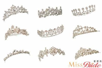 結婚皇冠飾品哪裡買?五家新娘飾品店推薦 【Miss Bride 愛漂亮】