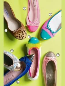 拼接之舞 炫目樂福鞋