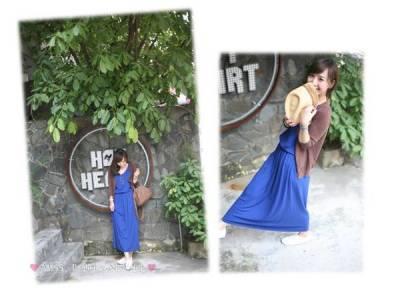 春夏必備長裙單品穿搭~~矮個子女孩也可以變女神