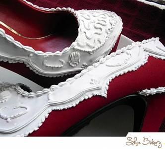 完全融化女人的心~可以吃的甜點高跟鞋?!