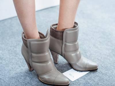 秋冬配飾新亮點:暖冬個性靴情