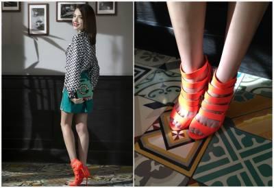 許瑋甯:鞋子是我的生命,請叫我「配件控」!