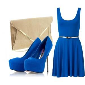 2014最受歡迎顏色 電光藍Dazzling Blue單品和穿搭介紹