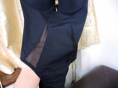 【內衣】NUDE 超激塑纖體系列 浪漫四蕾絲系列~絕對穿的住的塑身衣.俐落性感的蕾絲內衣