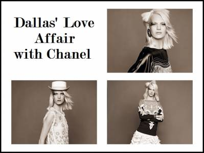 Dallas' Love Affairwith Chanel-印第安的幻想
