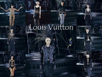 Louis Vuitton 黑色的華麗道別