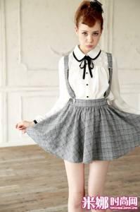 可愛又俏皮 少女風格的初秋裝扮