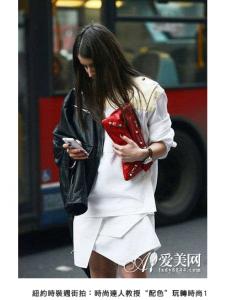 紐約街拍達人教你配色一招玩轉時尚