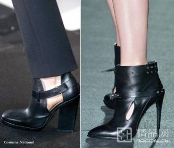 新潮鏤空涼靴 露出腳踝更時髦
