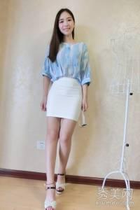 雪紡衫配短裙重點流行穿搭
