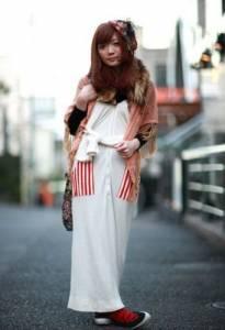 日系女孩自然新時尚街拍