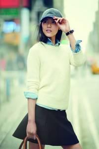 超模劉雯演繹J. Crew 2013秋冬女裝系列 2013秋冬女裝流行趨勢