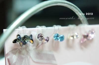 誰說沒有耳洞不能帶戴耳環-Astarte 創意飾品 不一樣的甜美飾品