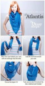 強勢登場!史上最強圍巾絲巾最全打法,女人一定要學!