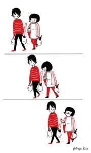 即使什麼都不做,待在你身邊也很幸福...