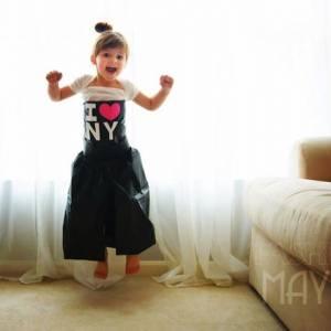 年僅四歲的服裝設計師...這個女孩子,讓他長大還得了?