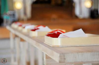 如此慎重的婚禮儀式,另一半在婚後絕對不敢對妳不好啦!