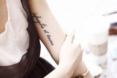 女生最愛紋身的33個地方