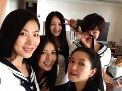 高圓圓15年前學生照曝光!!竟有女人是愈老愈美~完勝15年前的自己