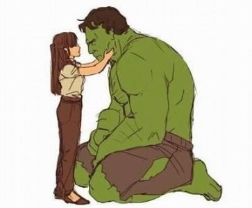 人類少女跟綠巨人浩克的不倫戀,結局竟然是這樣.....