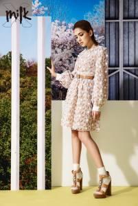 許瑋甯:姣好的混血女孩可不是只有長得漂亮而已,感情穩定以事業為重.....│MILK X 雜誌