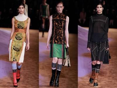 2015春夏女裝周專輯-Prada 紡織工藝的探索