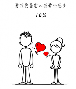 愛情裡最完美的,就是找一個10 先生!