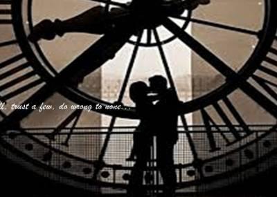愛情讓人忘記時間,時間讓人忘記愛情