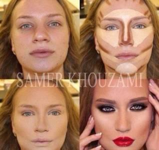 傳授給女孩們《決勝臉龐的修容秘技》只會畫妝不會修容大失敗!