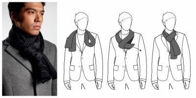 秋冬造型再升級!推薦4種常見圍巾穿搭│GQ瀟灑男人網