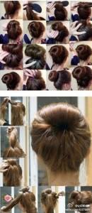 不想再綁馬尾了!最好看的女孩盤髮髮型教學,手殘女也沒問題喔!!太美了吧~~